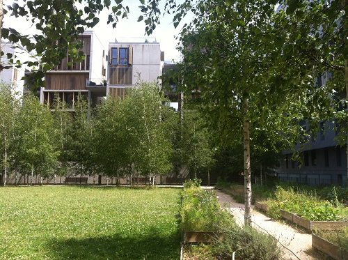 Duchère, Lyon, France ecodistrict housing