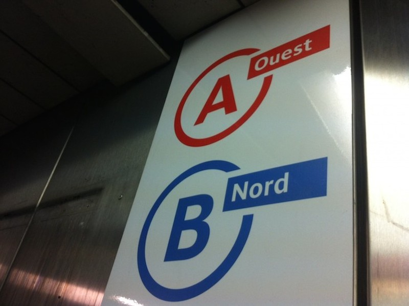The RATP Helps Parisians Rediscover the Cardinal Directions