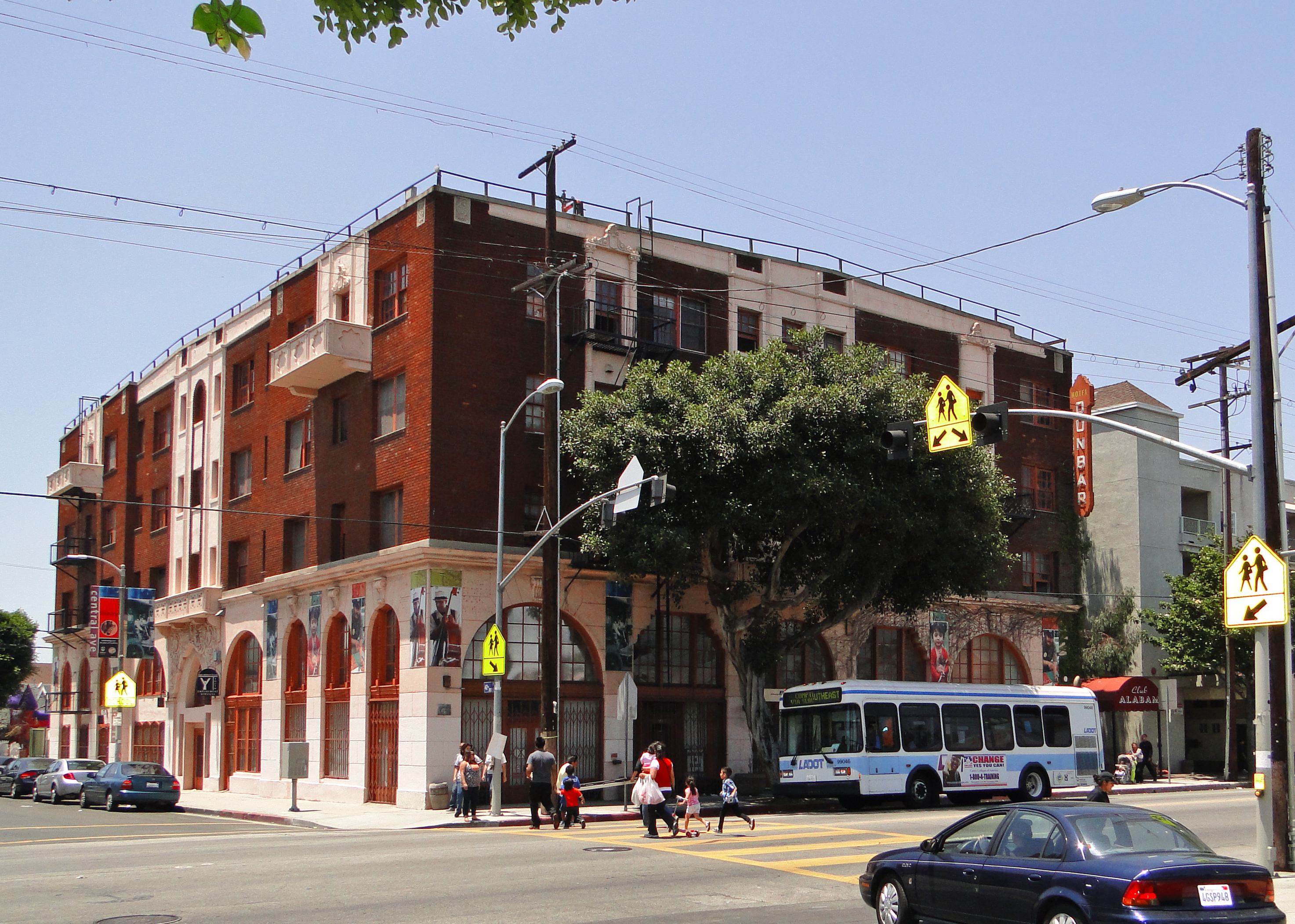 Dunbar Hotel, Los Angeles, United States from Wikipedia by user Cbl62