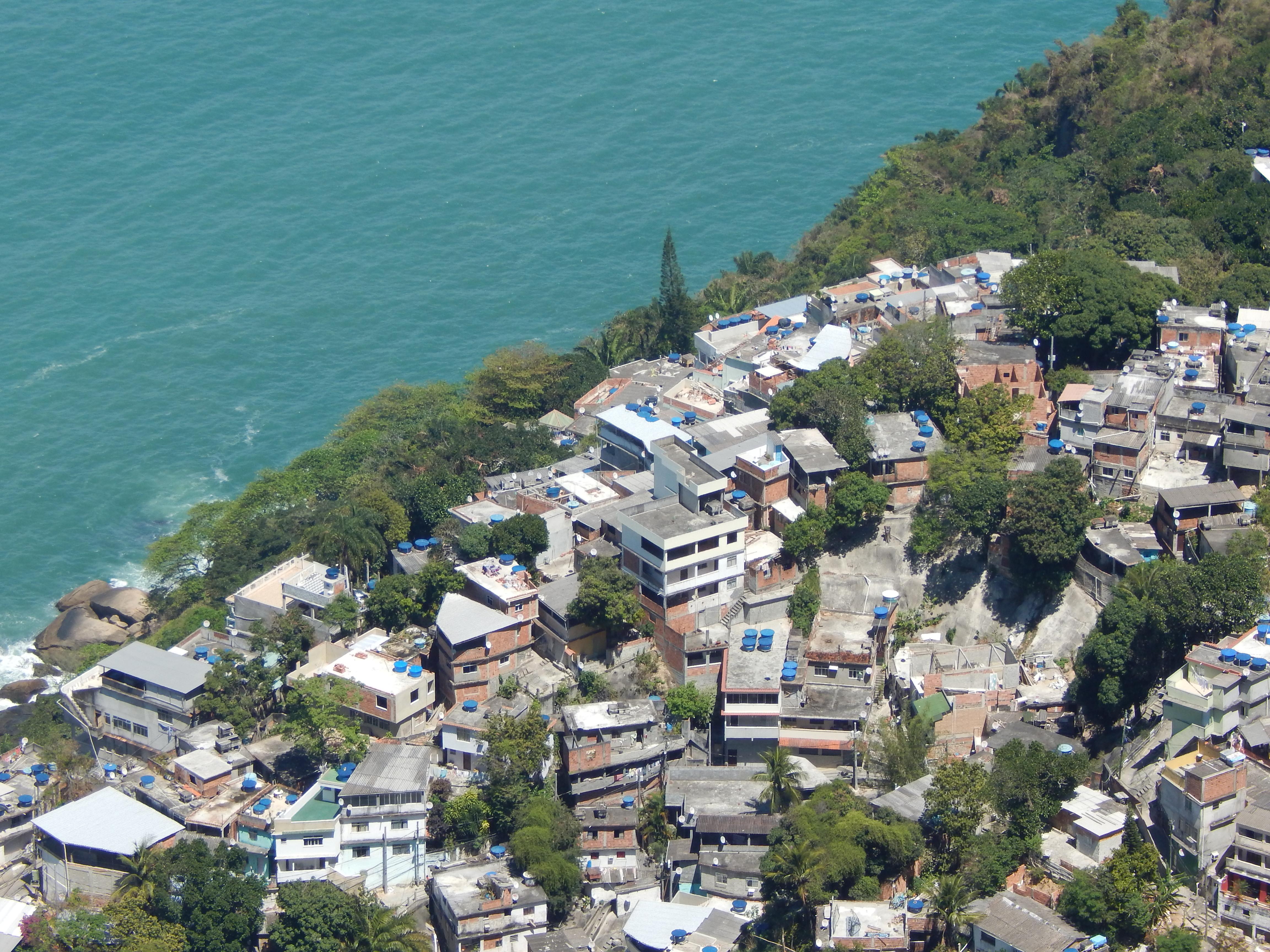 Favela de Vidigal, Vidigal Favela, Rio de Janeiro, Brazil