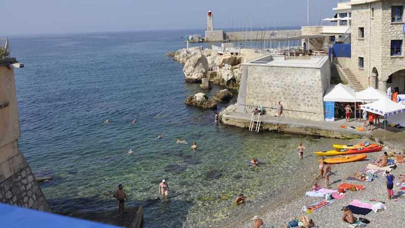 Bains militaire beach, Nice, France