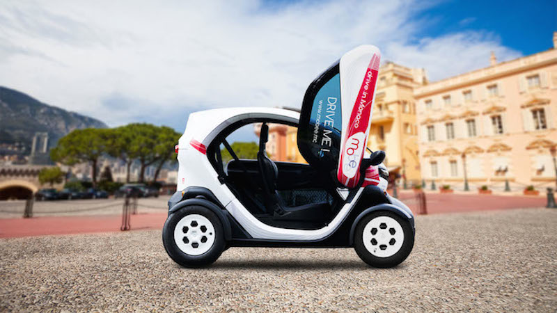 Mobee cart transportation in Monte Carlo, Monaco, France