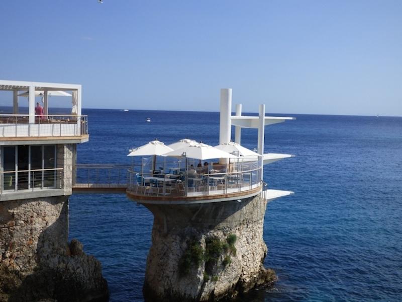 Plongeoir restaurant, Nice, France