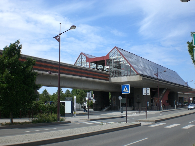 Metro Station in Lille, France