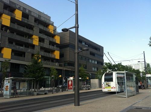 Duchère, Lyon, France transit and housing
