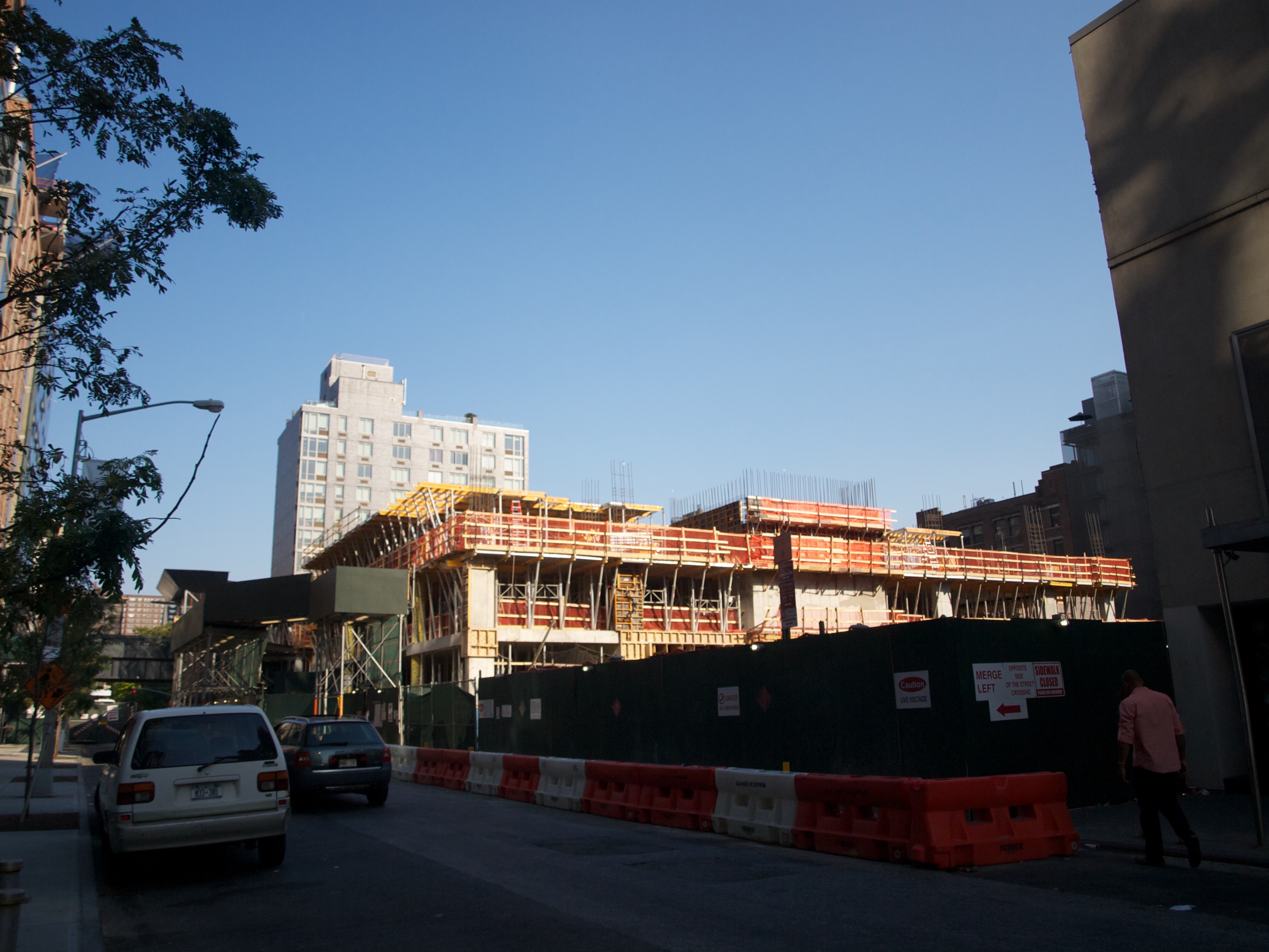520 West 28th Street is still under construction and will not be finished until late 2016, or even 2017