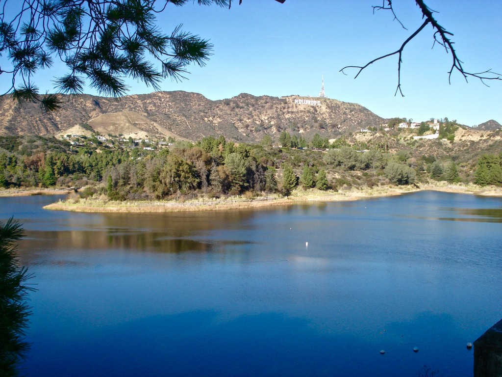Hollywood Reservoir, Los Angeles, CA, USA