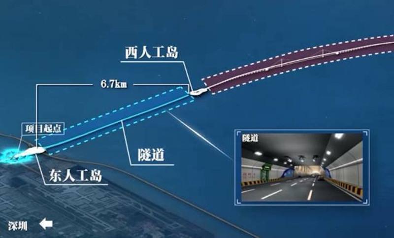 Shen-Zhong Corridor Designs, Tunnel design, Guangdong, China