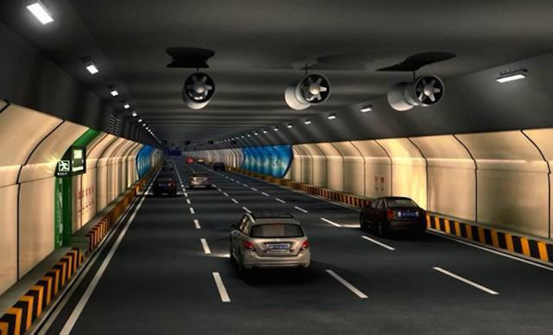 Shen-Zhong Corridor Designs, Tunnel design, Guangdong, China