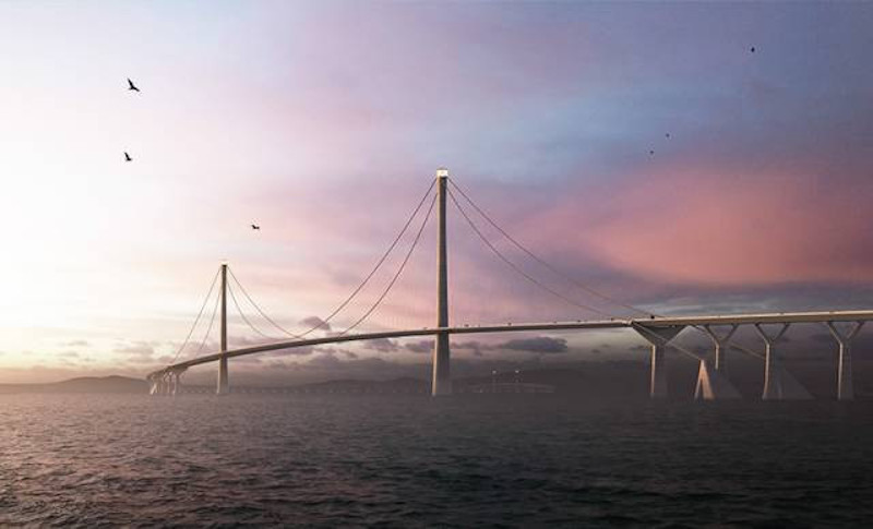 Shen-Zhong Corridor Designs, Bridge overview, Guangdong, China