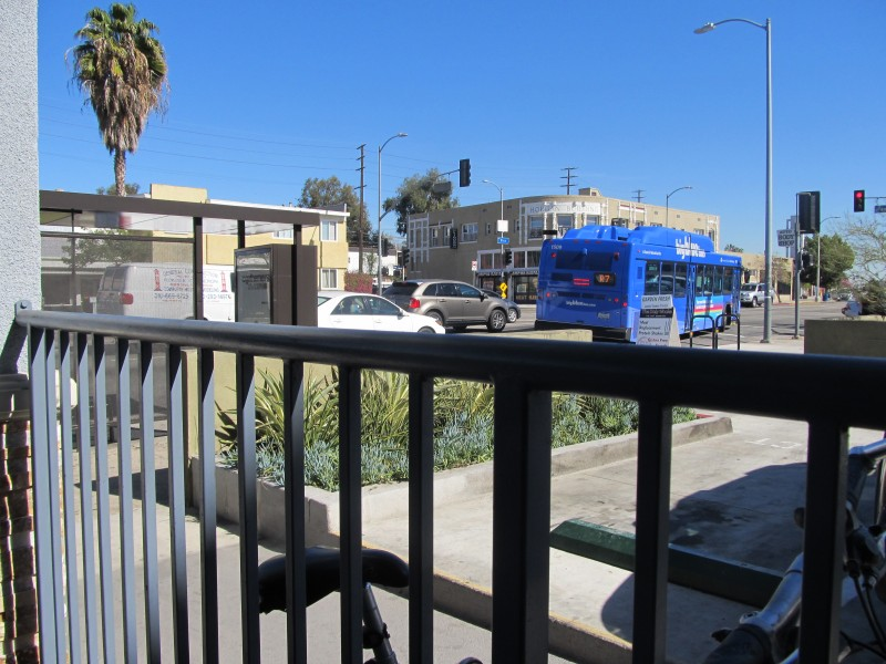 West Pico Blvd Bus Stop, Los Angeles, California