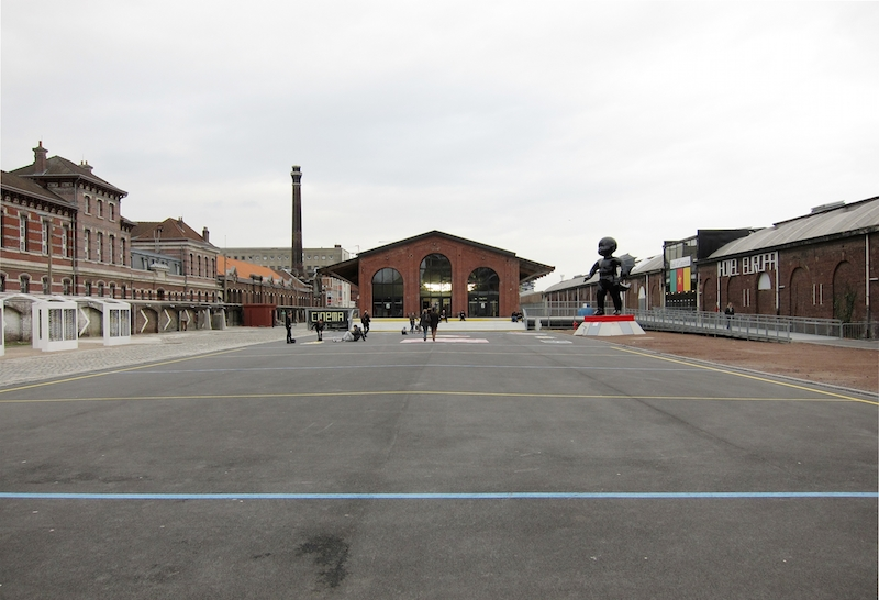 Former Train Station Saint Sauveur, Lille, France