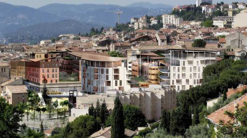 View of Grasse, France in 2021