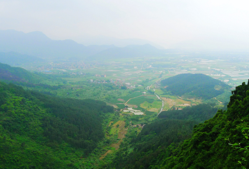 Wuhushan Mountain Overview, Fuzhou, Fujian, China