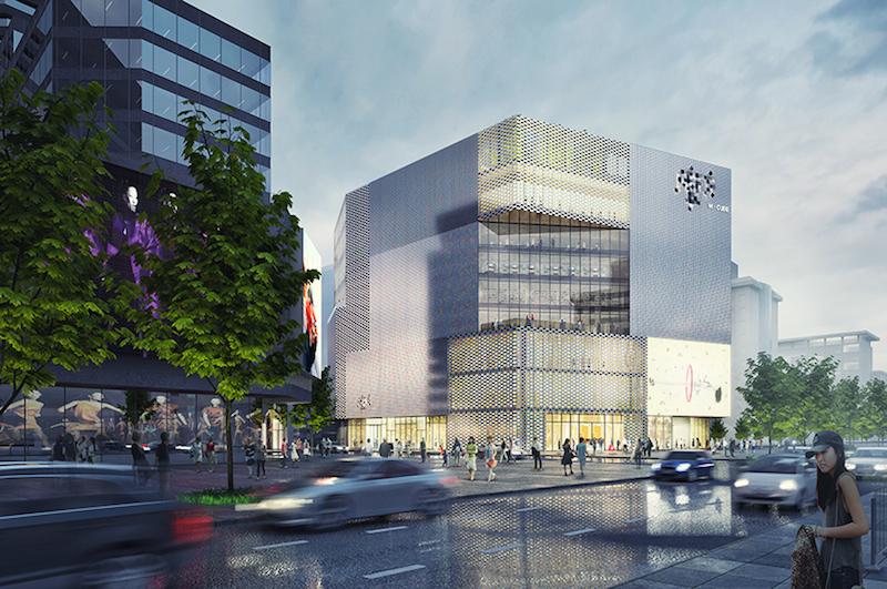 MVRDV - Chongwenmen M-Cube shopping centre, Beijing, China