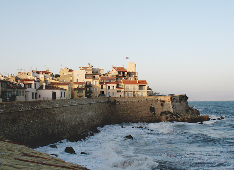 The Ramparts of Antibes in France