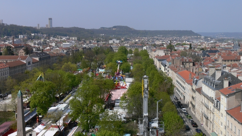 View of Nancy, France