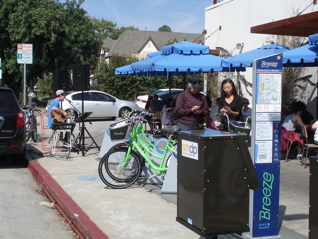BreezeBikes, Santa Monica Bike Share, Santa Monica, California, USA