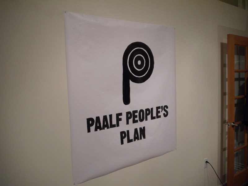 PAALF People's Plan Logo in Portland, Oregon.