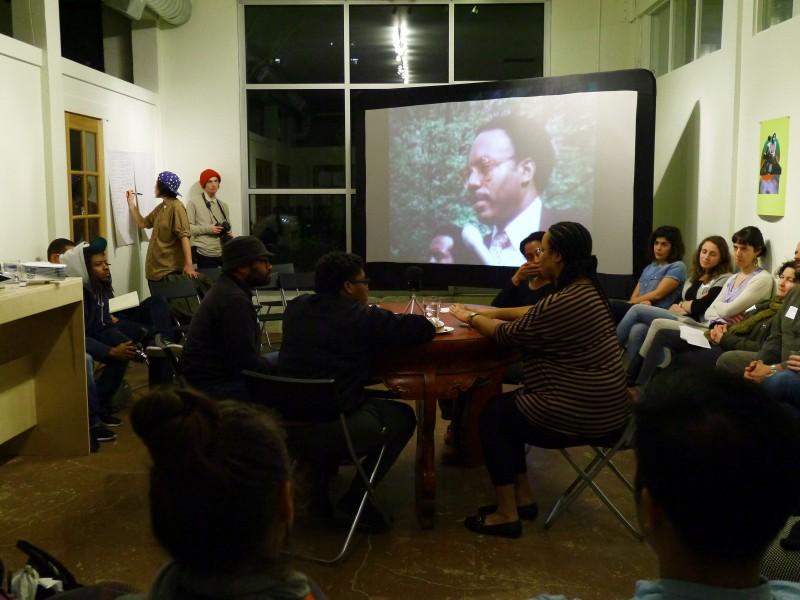 """Kaleidoscope Conversation at a community meeting in Portland, Oregon."