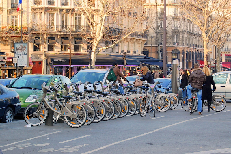 French Bicycle Station