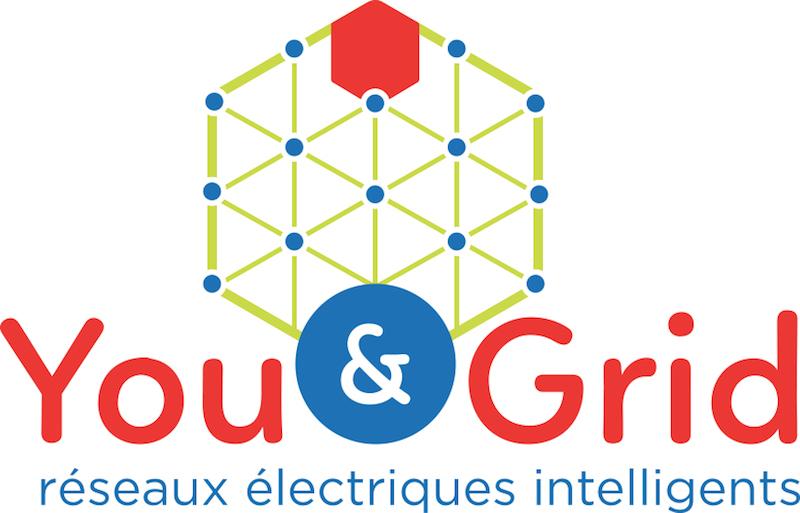 You & Grid Logo: Reseaux Electriques Intelligents
