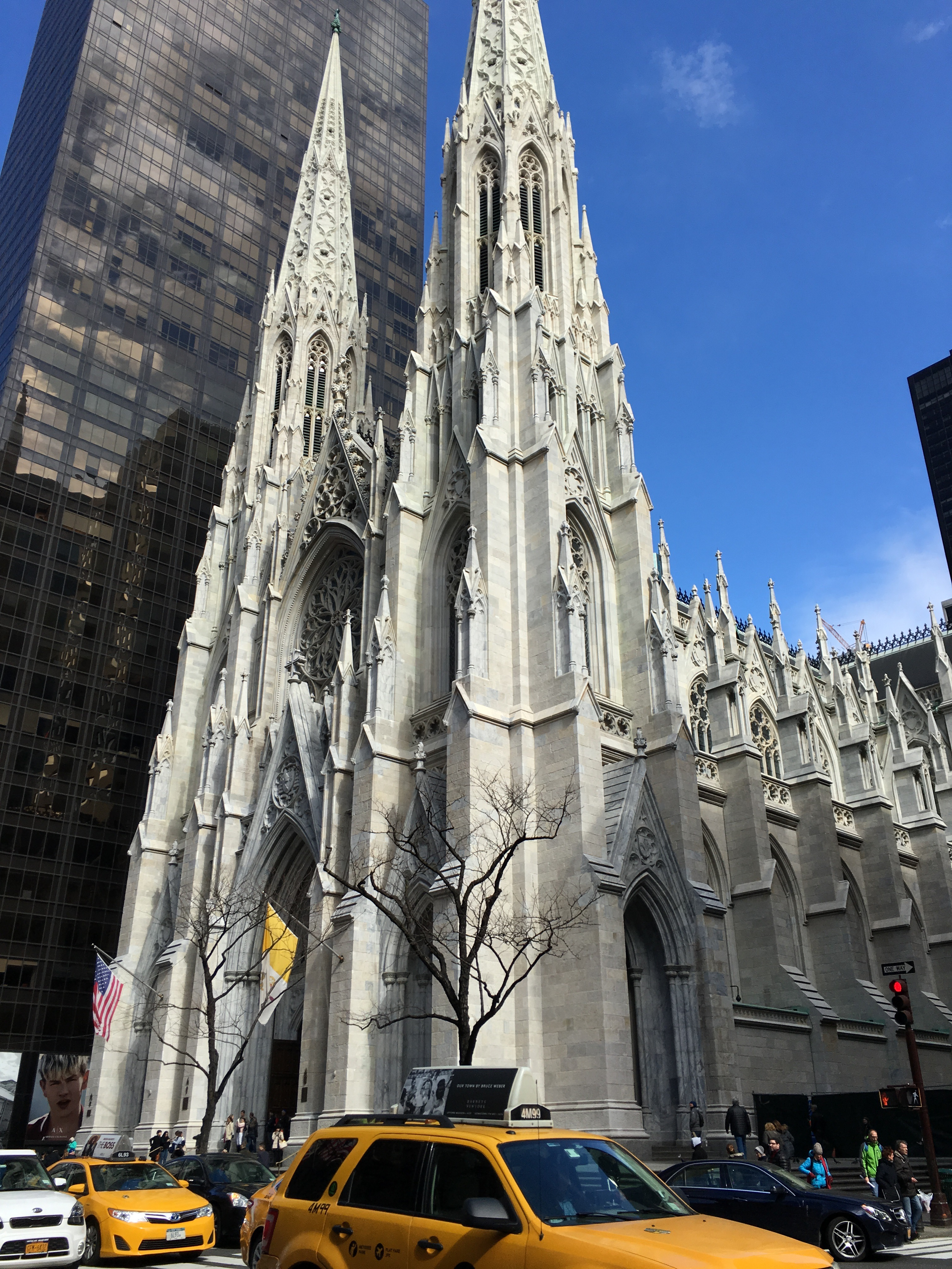 St. Patricks Cathedral, perhaps the most famous religious structure in the city, has been a major tourist attraction for decades. Even as the surrounding area has developed, it has continued to be a staple in the urban fabric.