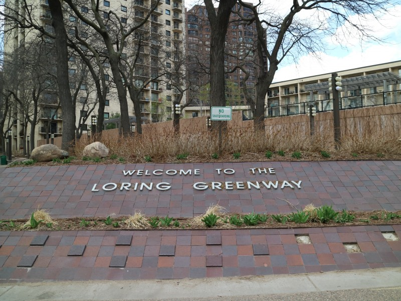 Loring Greenway, Minneapolis, Minnesota