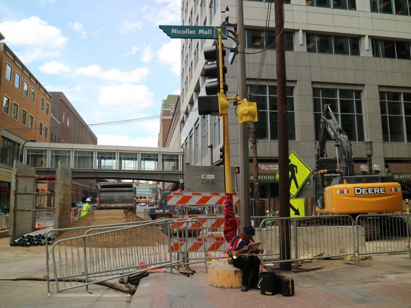 Redevelopment of Nicollet Mall, Minneapolis, Minnesota