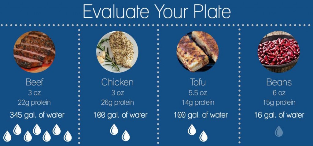 Infographic-Food Choices and Water Consumption