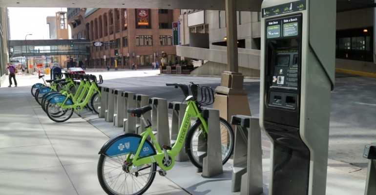 Nice Ride Minnesota Creating Green Transportation across the Metro and Promoting Health and Wellness