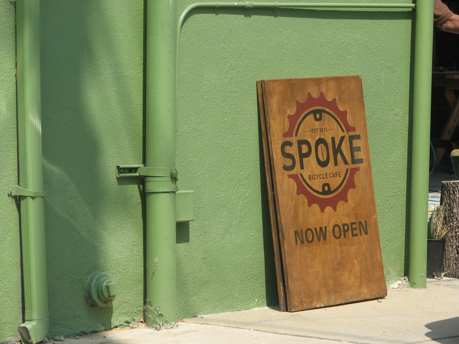 Spoke Bicycle Cafe, Los Angeles, California, United States