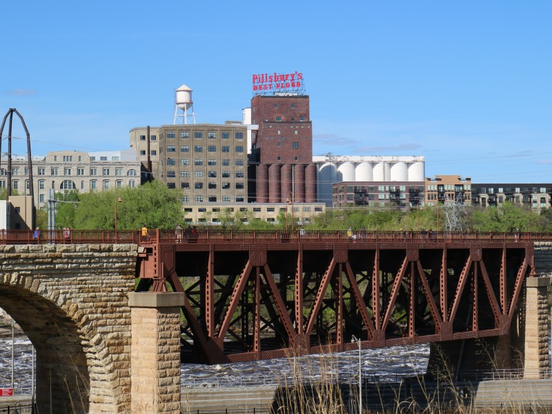 Pillsbury's Best Flour Mill, Minneapolis, Minnesota