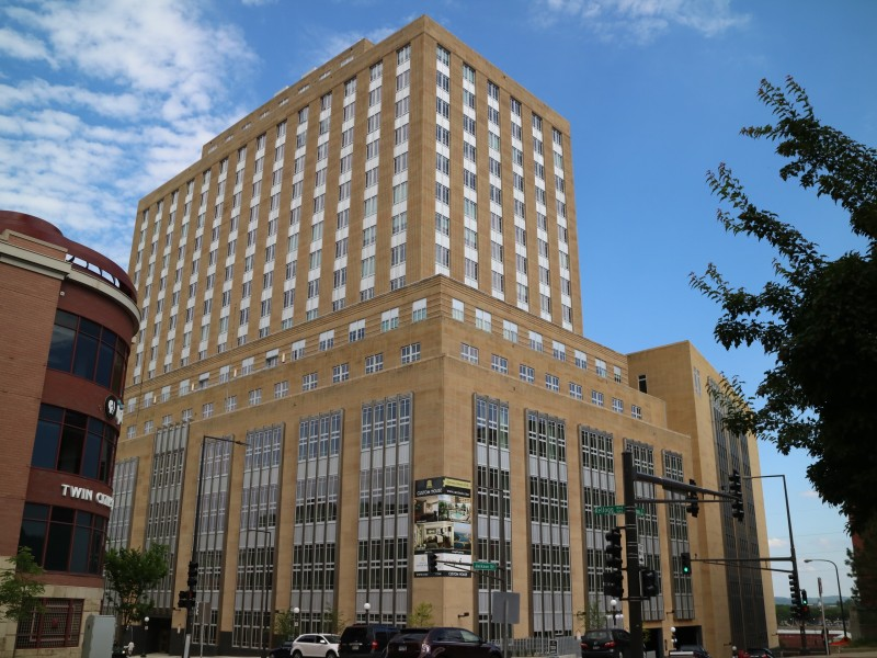 Custom House & Hyatt Place Hotel Building in St. Paul, Minnesota