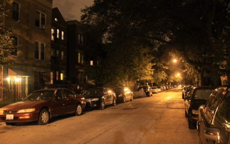Chicago's Nighttime Glow Fades as LEDs Replace Vapor Lamps