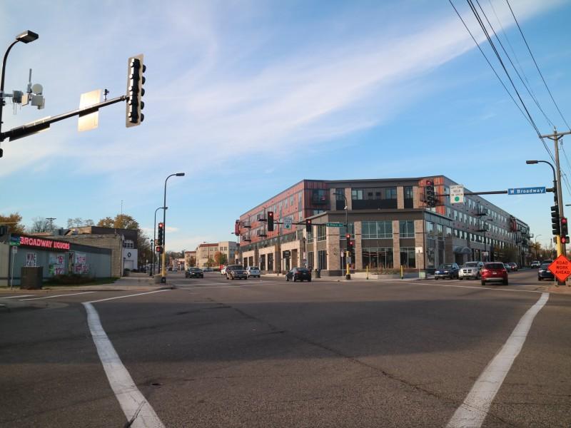 West Broadway & Penn, Minneapolis, Minnesota