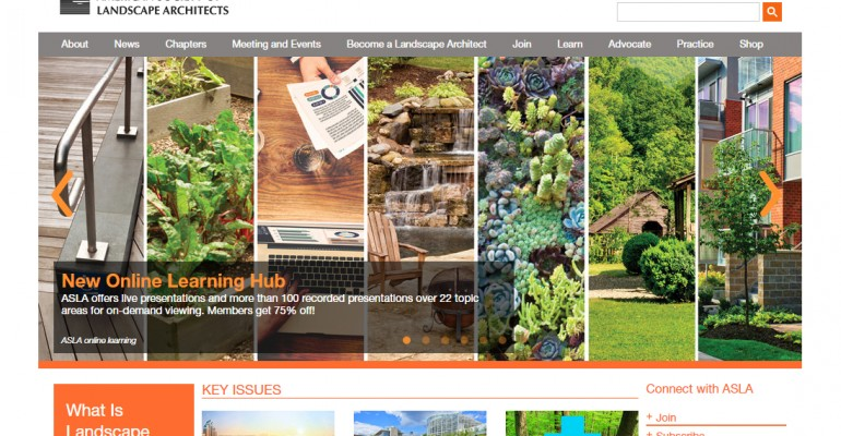 Top 20 Landscape Architecture Websites of 2016