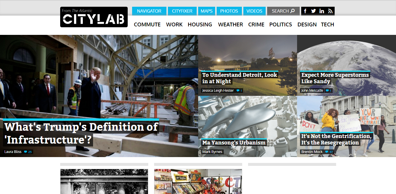 CityLab website homepage