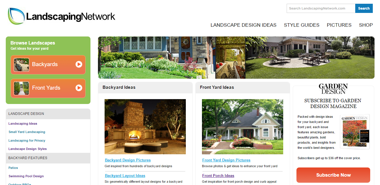 Top 20 Landscape Architecture Websites Of 2016 The