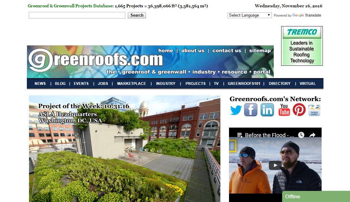 Greenroofs