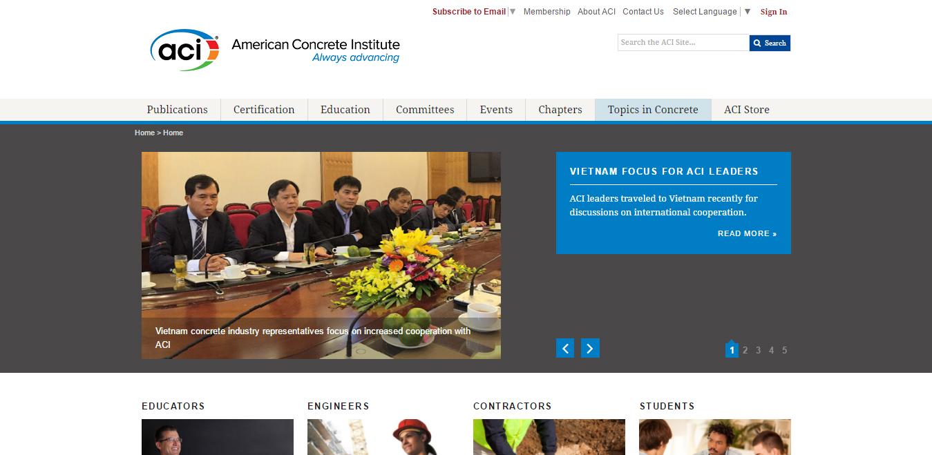 American Concrete Institute (ACI)