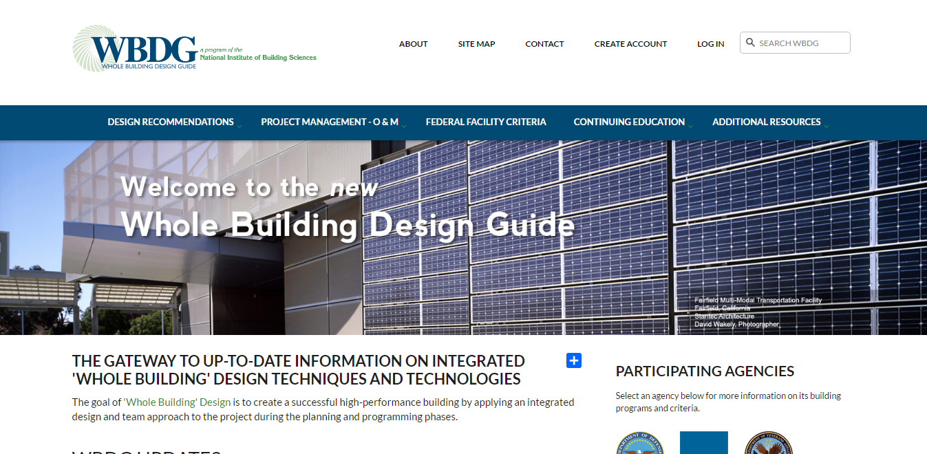 Whole Building Design Guide (WBDG)