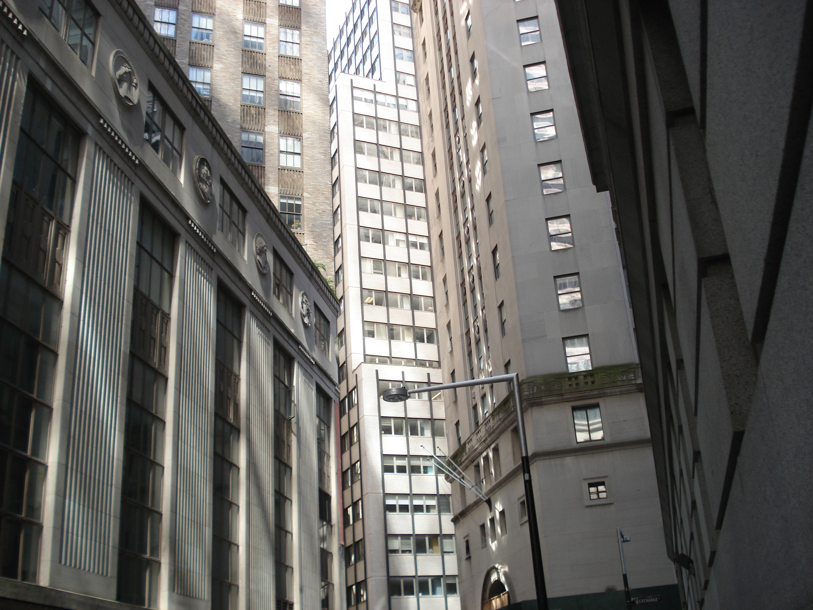 Wall Street, high density development, New York City, NY