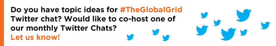 #TheGlobalGrid Twitter Chat