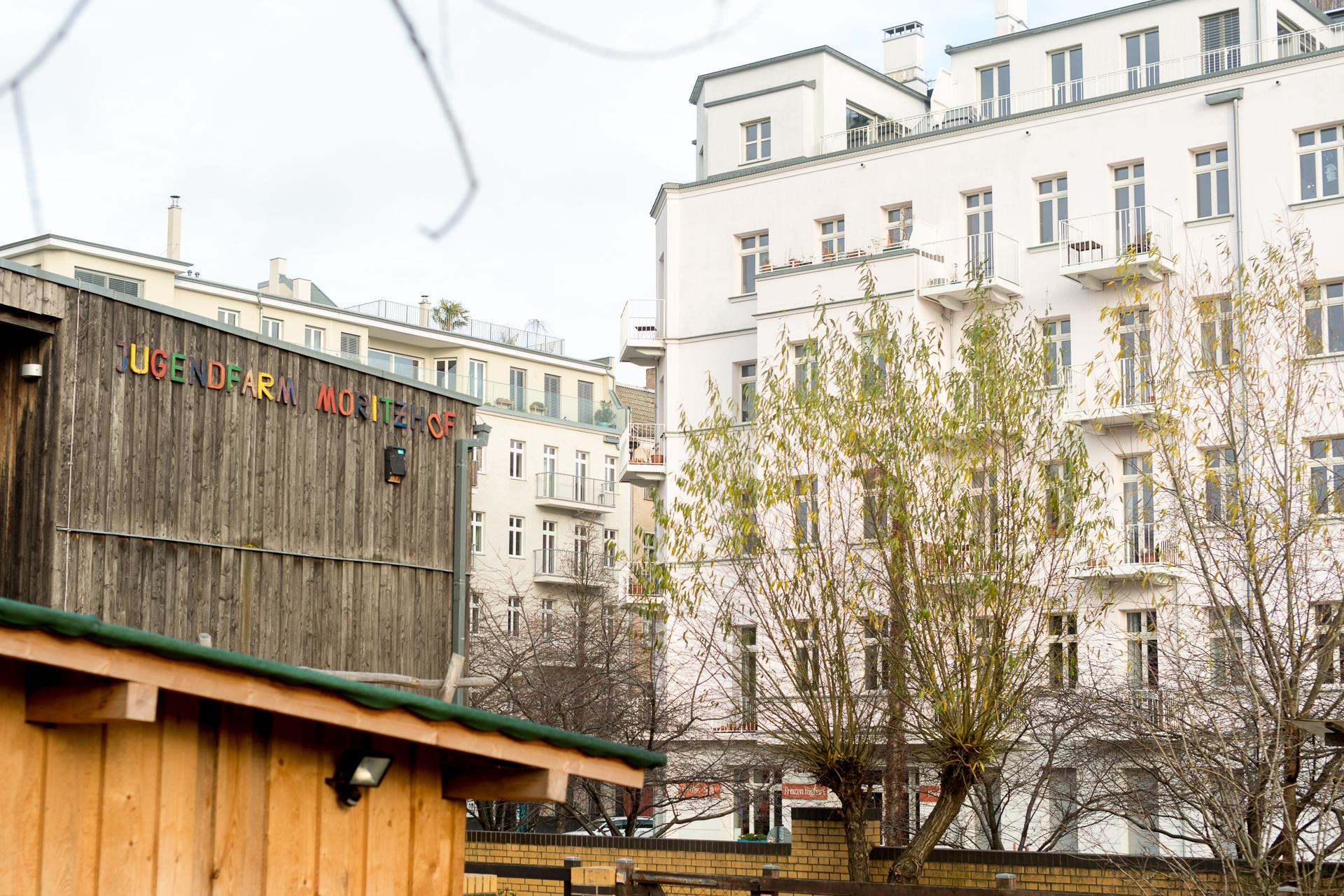 Jugendfarm Moritzhof in Berlin, Germany