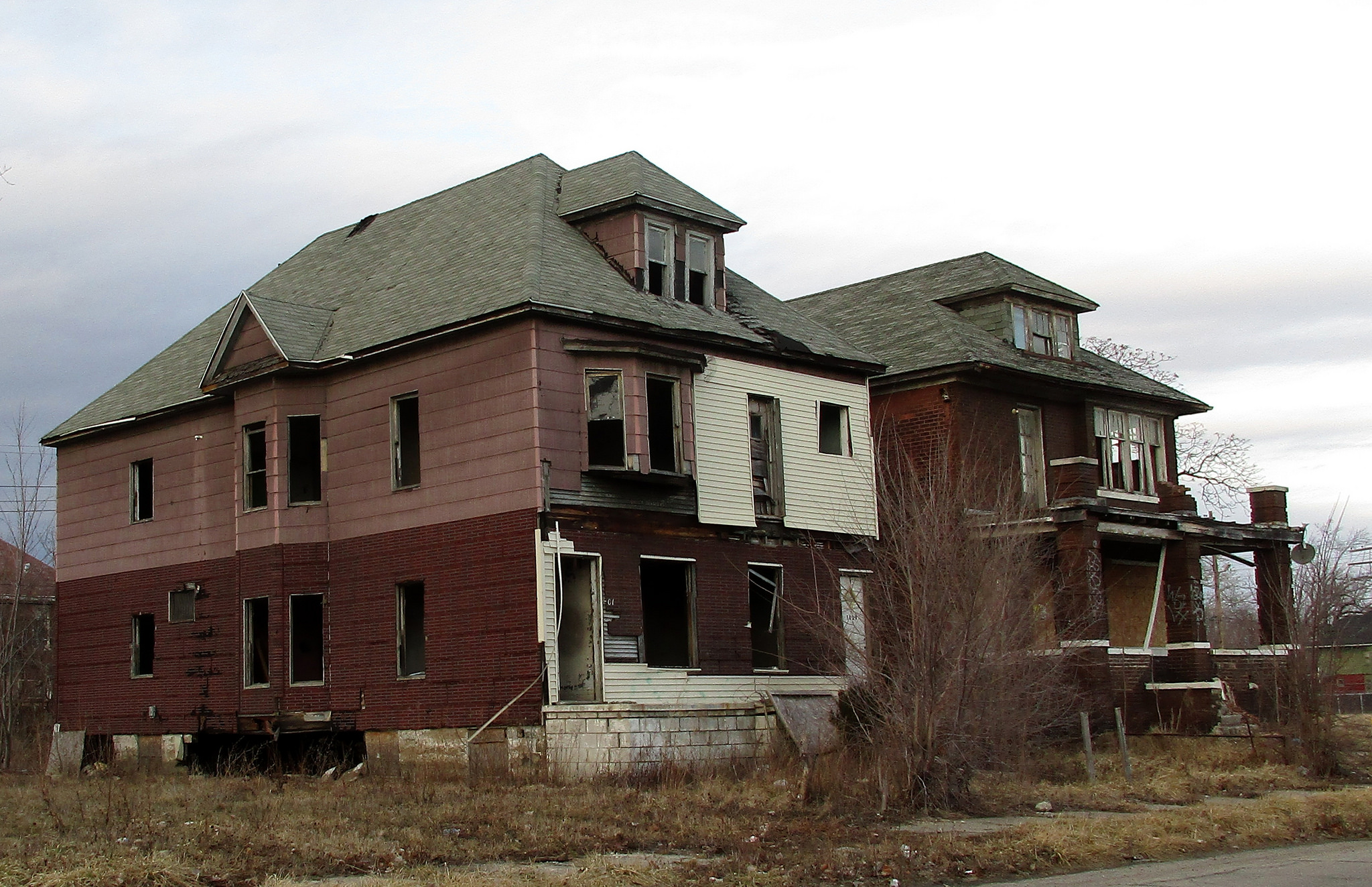 A $500 House in Detroit by Drew Philip; Vacant House in Detroit, Michigan