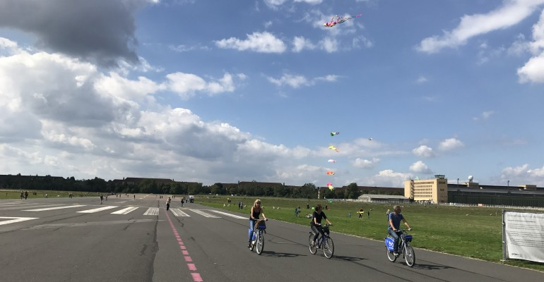 Famous Tempelhof Airport Remains Berlin's Playground