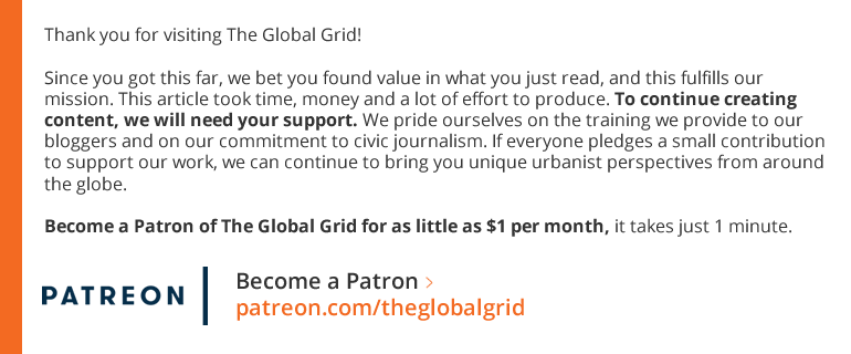 Become a Patron of The Global Grid