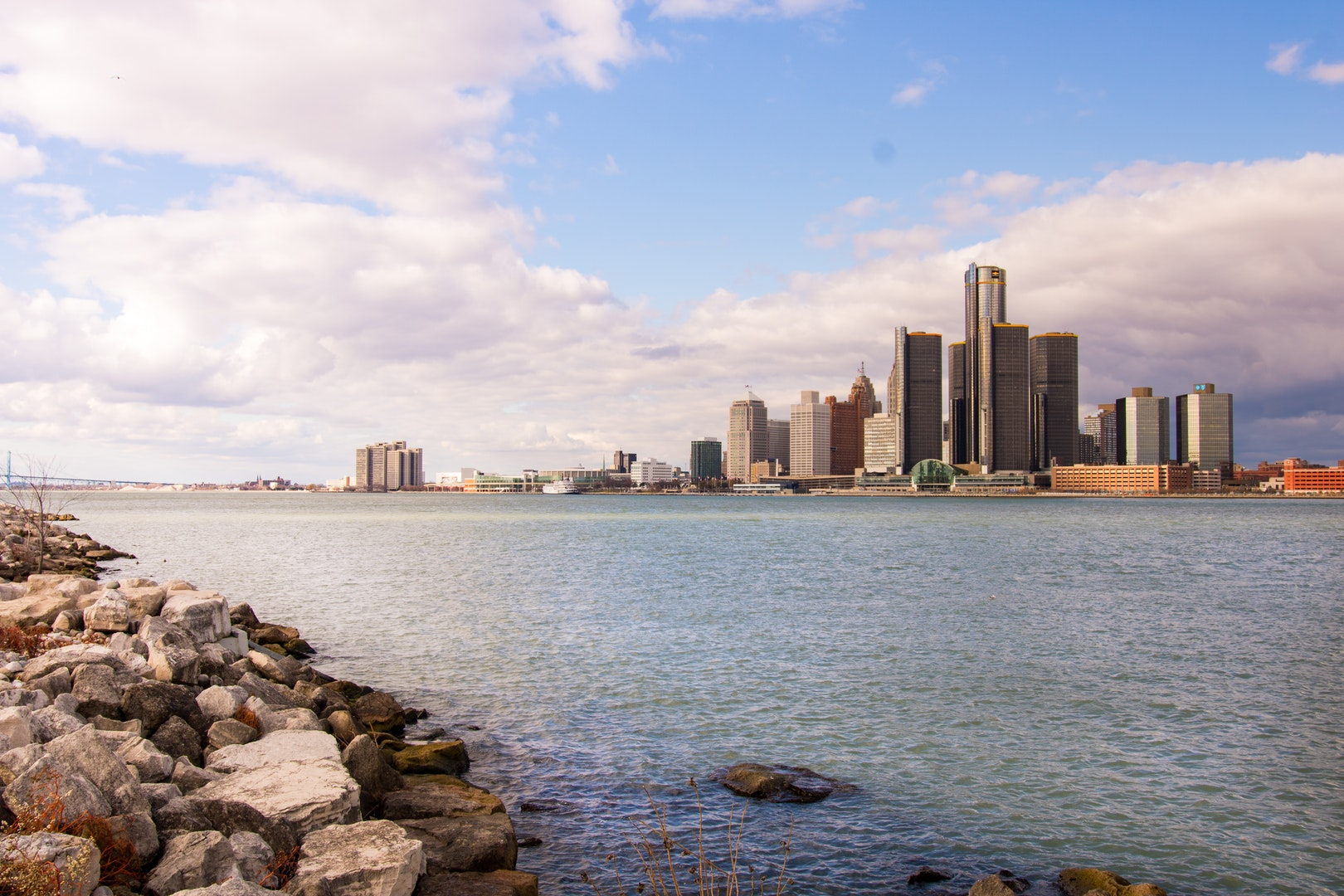 A $500 House in Detroit by Drew Philip; Detroit, Michigan skyline