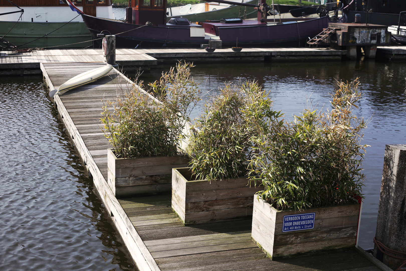 De Cuevel takes advantage of all the surrounding space for floating gardens and vegetation